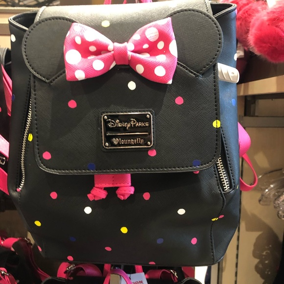 f379e435547 Disney Bags   Minnie Mouse Rock The Dots Backpack   Poshmark